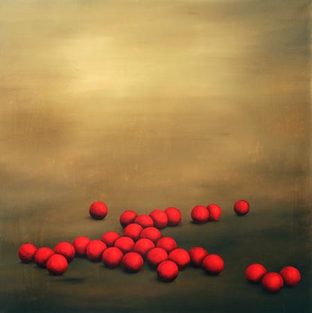 Red Balls, 48x48
