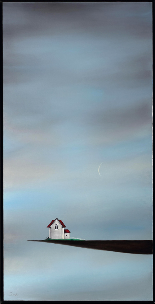 House on the Cliff (Crescent Moon)